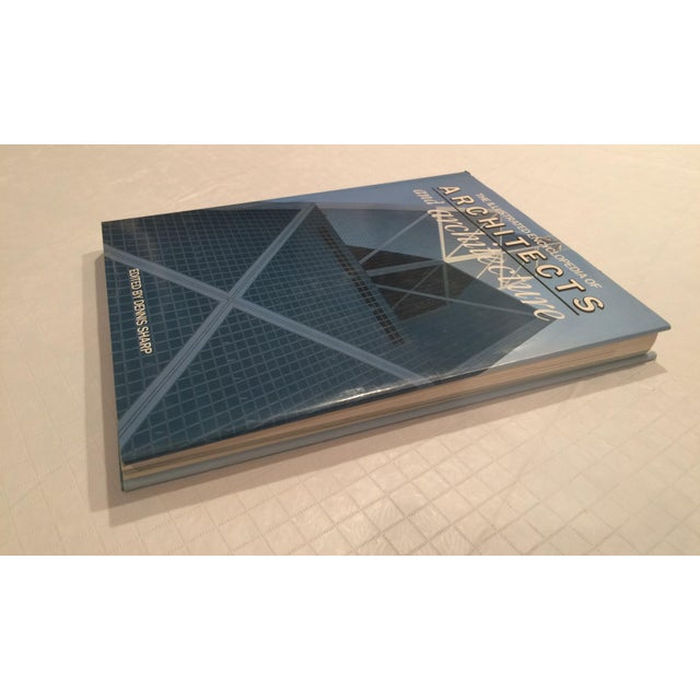 """""""The Illustrated Encyclopedia of Architects and Architecture"""" Book by Dennis Sharp For Sale In Boston - Image 6 of 13"""