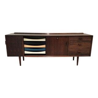 Arne Vodder Sibast Rosewood Cabinet Credenza For Sale