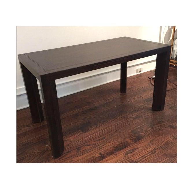 Keller Williams Mid-Century Parson Style Desk - Image 2 of 4