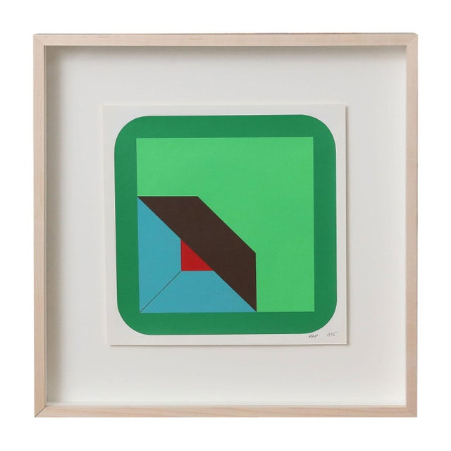 Nine Framed Pfahler Serigraphs For Sale - Image 9 of 13