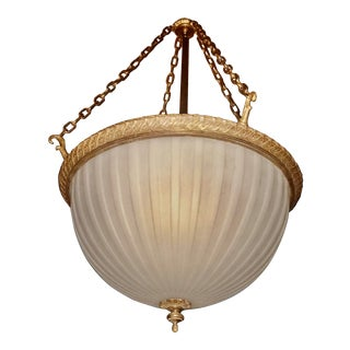 Early 20th Century Hanging Light For Sale