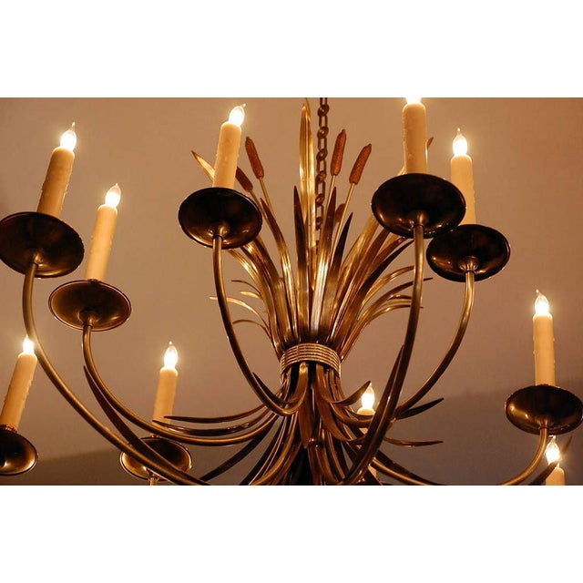 Neoclassical 1960s Maison Charles Large French Chandelier For Sale - Image 3 of 9