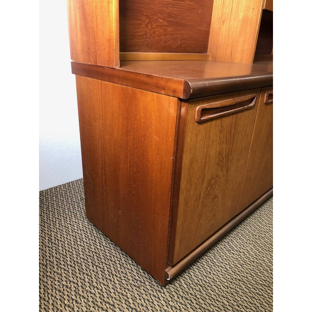 Midcentury Teak Wall Unit by Meredew For Sale - Image 11 of 13