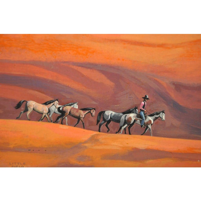 """Impressionism """"Navajo Drive"""" Acrylic Painting by Ted Littlefield For Sale - Image 3 of 9"""