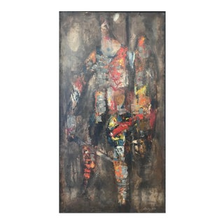 Stanley Bate, 'Centurion' Painting, Circa 1960 For Sale