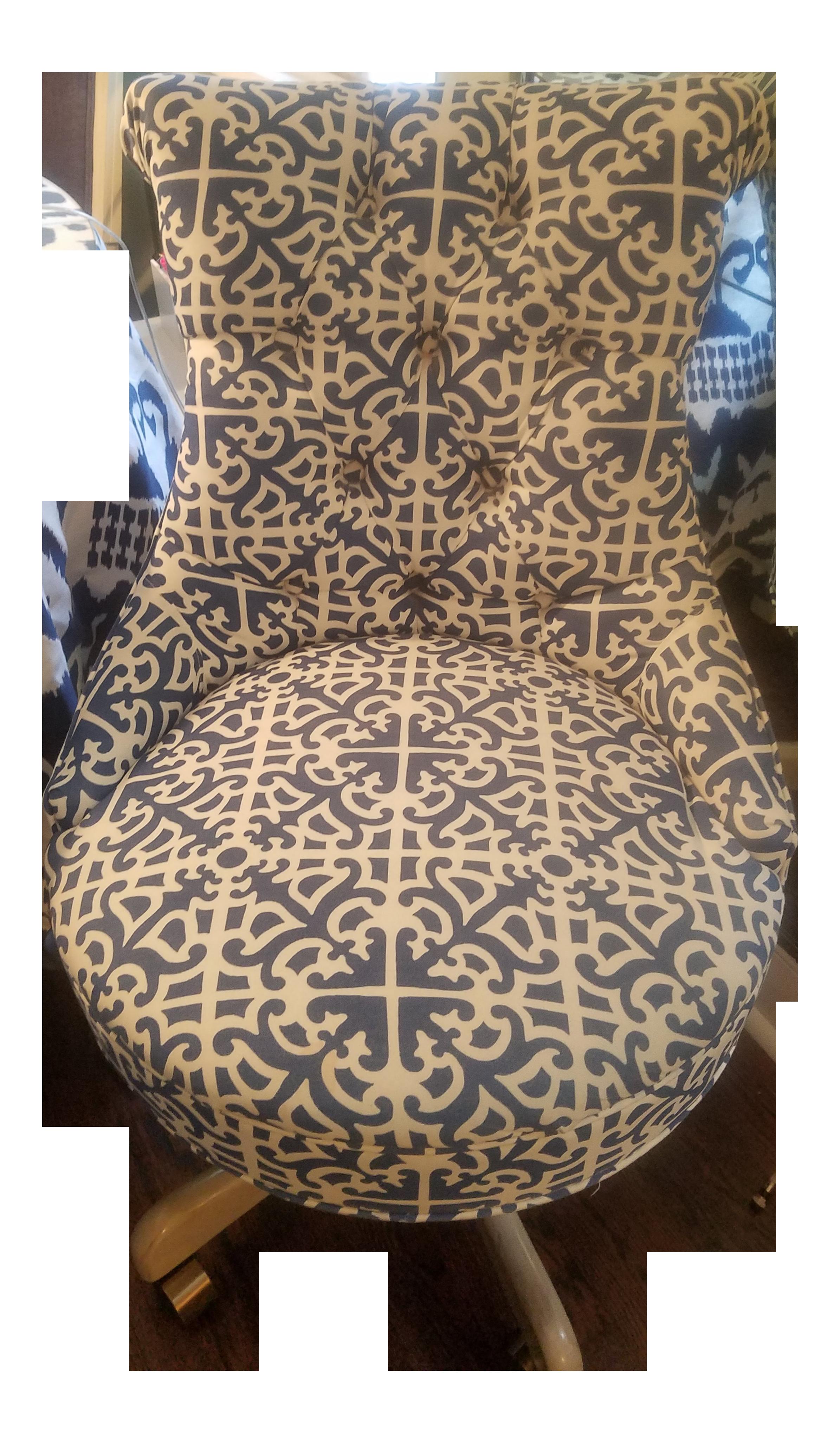 Ballard Designs Elle Tufted Desk Chair