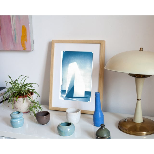Cyanotype Print - Sol Lewitt Minimalist Sculpture - Image 4 of 4