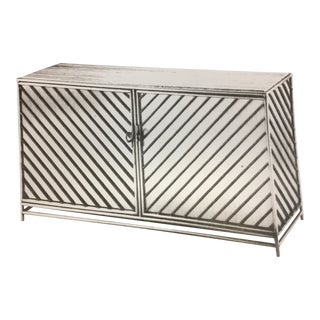 1970s Contemporary LCS Rebar Console For Sale