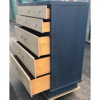 Vintage Mid Century Modern HighBoy Dresser Preview