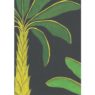 Tropical Wallpaper in Mallard Green, Sample For Sale