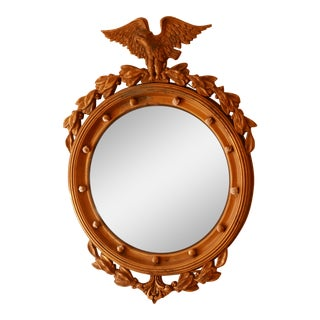 Federal Convex Eagle Mirror For Sale