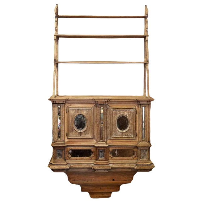 Unusual 18th Century Wall Cabinet - Image 1 of 3