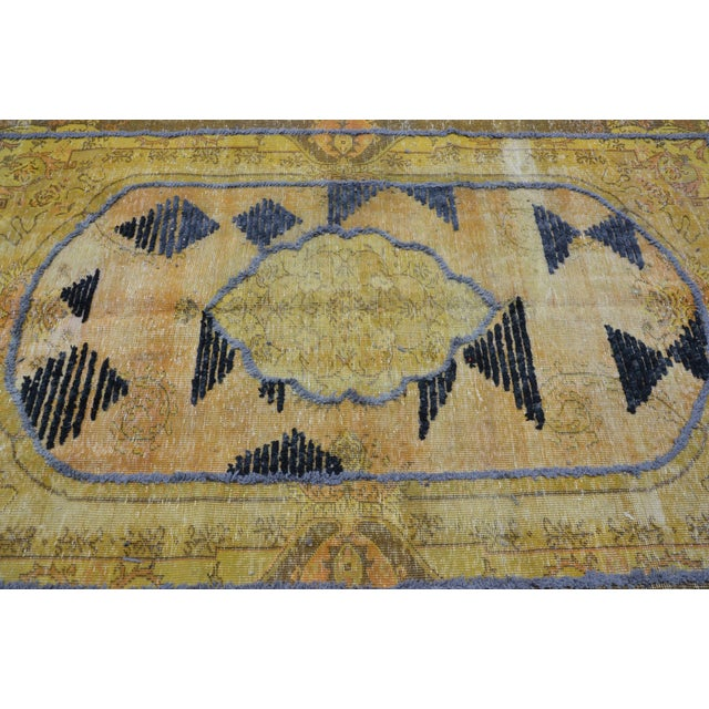 Overdyed Handmade Rug - 5′8″ × 8′10″ For Sale - Image 5 of 6