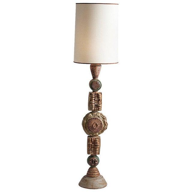 Bernard Rooke Ceramic Floor Lamp - Image 4 of 4