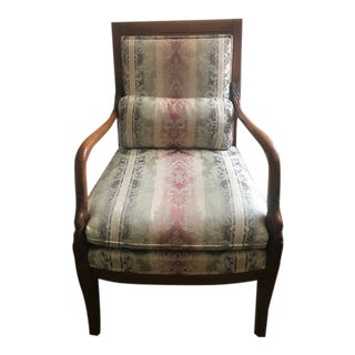 Ethan Allen Arm Chair with Back Pillow For Sale