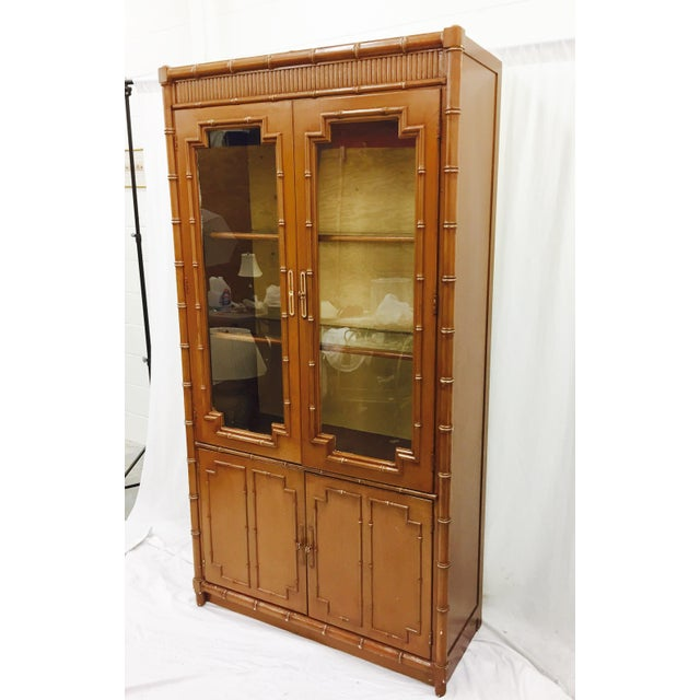 Vintage Chippendale Style China Cabinet - Image 2 of 10
