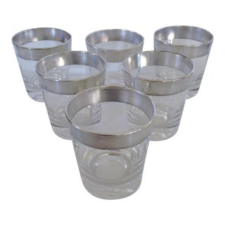Dorothy Thorpe Highball Cocktail Glasses- Set of 6 For Sale