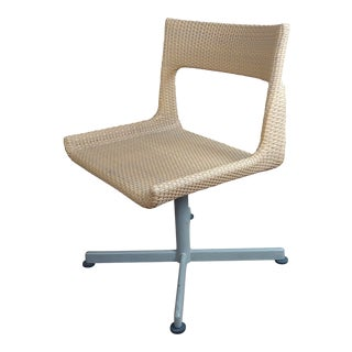 Kettal -Original 1960s Mid Century Modern Outdoor Woven Chair For Sale