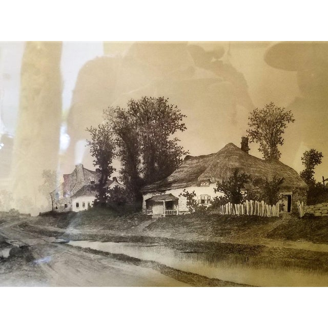 Late 19th Century 19c New York Signed Etching by Ernest Christian Rost 1891 For Sale - Image 5 of 9