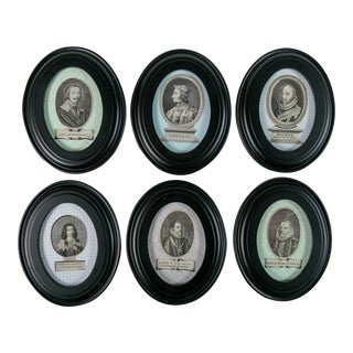 17th-Century Portraits - Set of 6