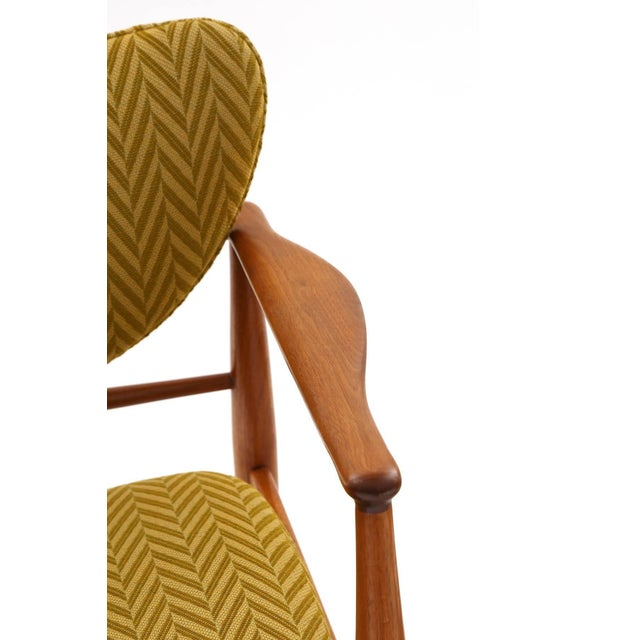 Pair of Finn Juhl for Baker number 48 armchairs, circa late 1950s. These examples have their original finish to the...