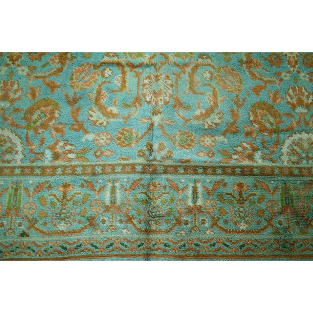 "Islamic Antique Donegal Turkish Oushak Rug - 9' X 11'6"" For Sale - Image 3 of 6"
