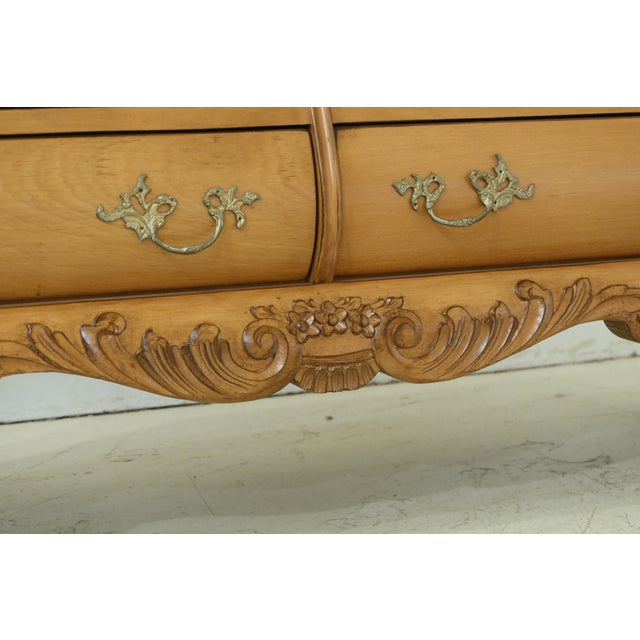 Baroque French Baroque Style 6 Drawer Dresser For Sale - Image 3 of 11