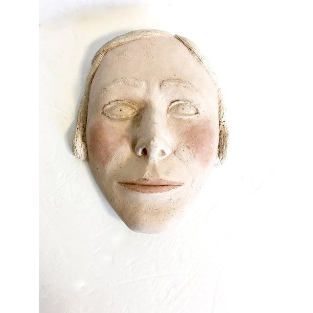 Vintage Terracotta Face Mask - Image 2 of 6