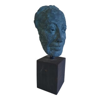 Original Plaster Bust For Sale
