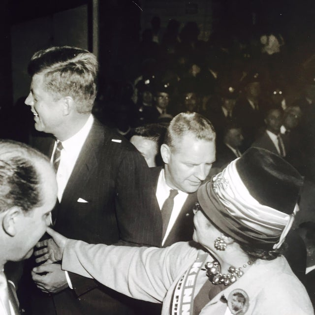 Original Charles Harris JFK Supporters Photograph - Image 3 of 7