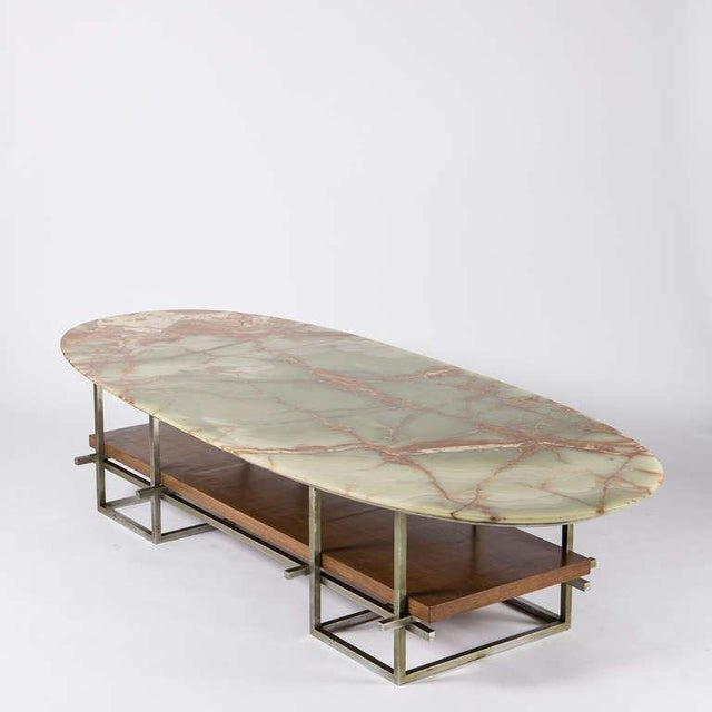 Huge Onyx Low Table For Sale - Image 6 of 10