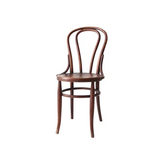 Antique Bentwood Cafe Chair For Sale