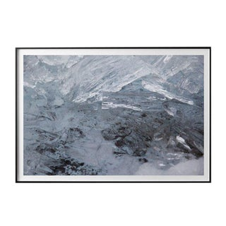 """Jeaneen Lund """"Glacial Ice #1"""" Unframed Photographic Print For Sale"""
