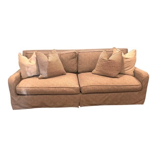 Robin Bruce/Rowe Havens Slipcovered Sofa For Sale