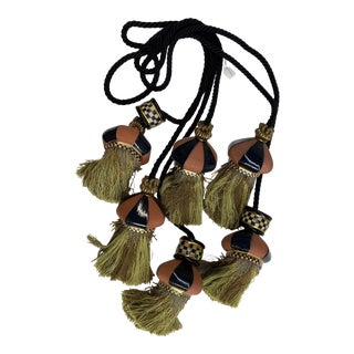 Traditional MacKenzie Childs Tassels - Set of 3 For Sale