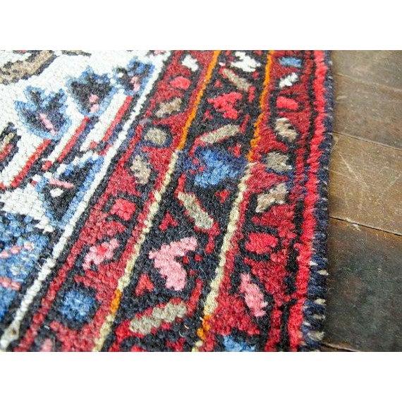 "Vintage Persian Bohemian Rug - 1'10"" x 3'1"" - Image 6 of 6"