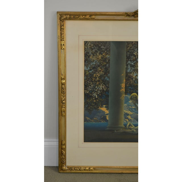 "Maxfield Parrish ""Daybreak Vintage Framed Print or Lithograph For Sale - Image 10 of 13"