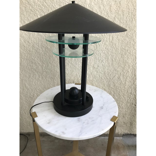 Post Modern Metal Lamp Chairish