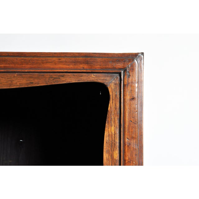 Elm Chinese Cabinet with Display Shelf For Sale - Image 7 of 11