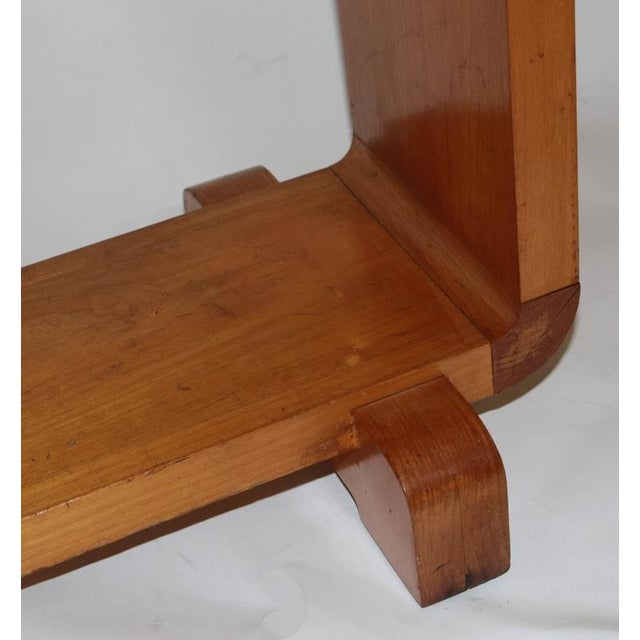Shirley Temple's Art Deco Drop-Leaf Child Table - Image 9 of 10