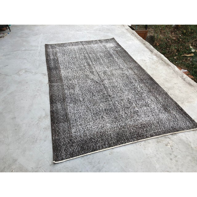 This is a handwoven Turkish Anatolian OUSHAK rug. We collect antique rugs from Anatolia, which is the eastern part of...