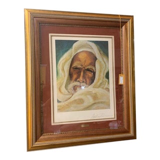 "Anthony Quinn ""The Prophet"" Portrait For Sale"