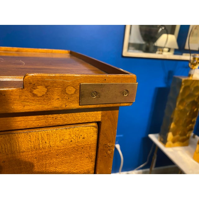 French Oak Apothecary Cabinet For Sale - Image 9 of 13