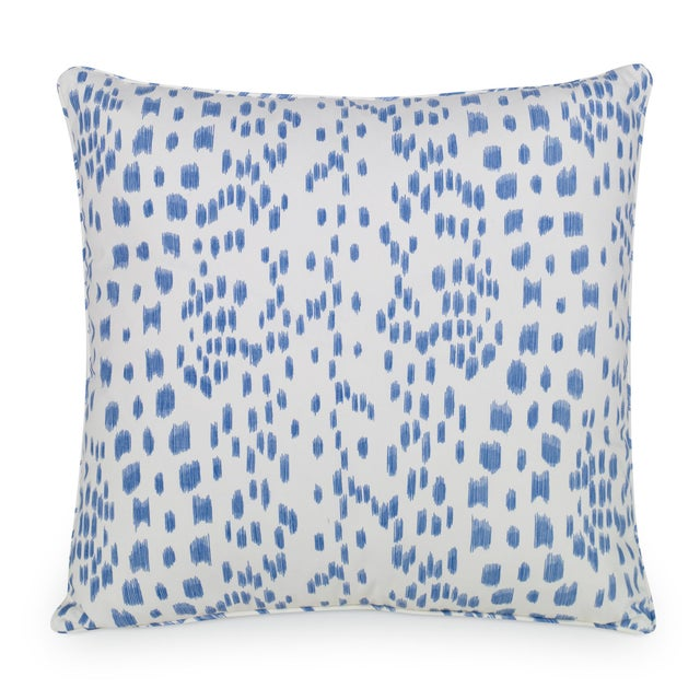 Contemporary Curated Kravet Les Touches Pillow - Cadet For Sale - Image 3 of 3