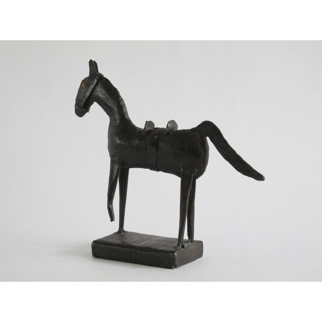 Brutalist Horse Sculpture For Sale - Image 4 of 5