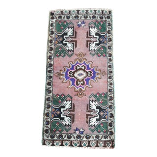 1990s Vintage Rugs- 1′7″ × 3′7″ For Sale