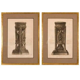 Copper Plate Engravings by Giovanni Battista Piranesi For Sale