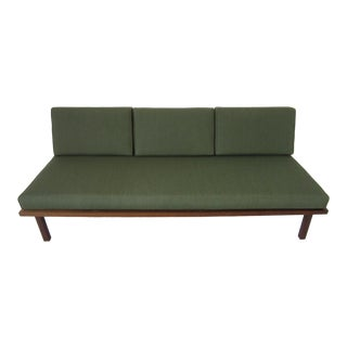 Mid Century Walnut Daybed / Sofa For Sale