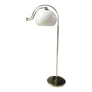 Mid Century Modern Brass Base Floor Lamp