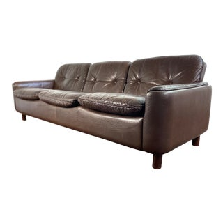 Vatne Mobler Leather Sofa For Sale